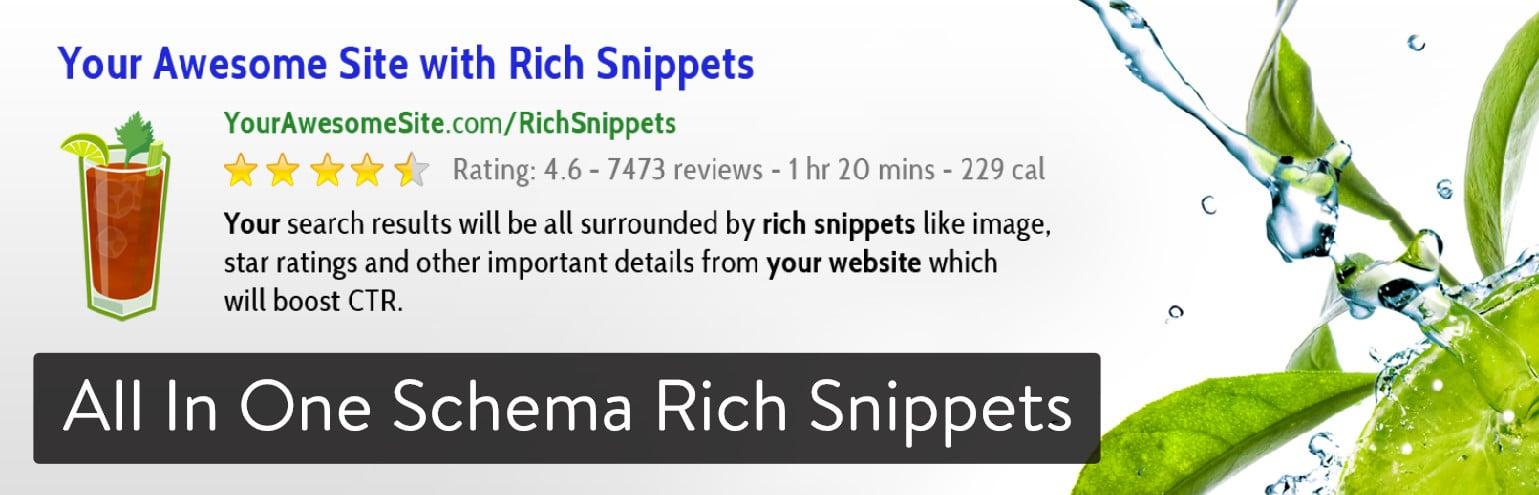 Schema Rich Snippets WordPress Plugin