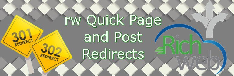 RW Quick Page and Post Redirects